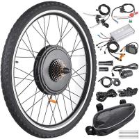 48V 26 Inch Rear Wheel Electric Bicycle Motor Kit , Electric Motor Kits For Bicycles
