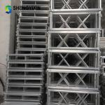 Assembly folding aluminum outdoor stage portable for stage system for event wedding concert