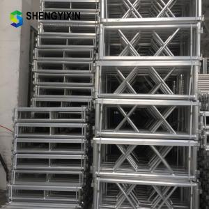 China Escenario Aluminum Stage Truss Height Adjustable Stage Platform Folding Dance Stage for Outdoor Concert Show on sale