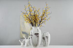 China High end quality home decoration flowers handmade flowers  Phoenix tree fruit Series on sale