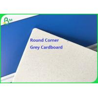 1mm 2mm Grey Gray Chip Cardboard with Round corner Thickness 1200 x 1000 mm 1420 x 1120 mm