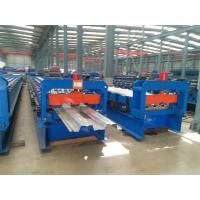 Double 1.5  Inch Chains Steel Metal Decking Tile Sheet Roll Forming Making Machine