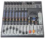 12 Channel Professional Audio Mixer  Audio Stage Mixing Console  X1222USB