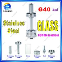 China 4 ml Glass Tank Ecig Atomizer Pen Vape Atomizer with High Quality from Sailing Factory on sale