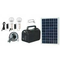 20w portable  solar power system solar energy off-grid solar power with mp3 and radio for Africa