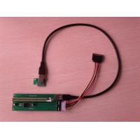 Bitcoin Miner USB Pcie Riser Cable , Mini Pcie Cable Two Generation Usb To Pcie Riser Adapter