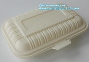Plastic corn starch biodegradable meat tray, Cornstarch