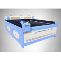 High Accuracy Flat Bed CO2 Laser Cutting Machine / Glass Laser Engraving Machine
