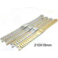 Stainless Steel Watch Bracelet , Stainless Steel Cuff Bracelet With Super Wider Link