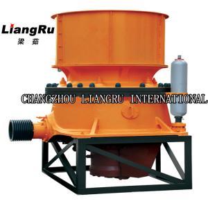 China Nonferrous / Limestone Crusher Machine , 160 Kw Hydraulic Cone Crusher Capacity 70 - 250 T / H on sale