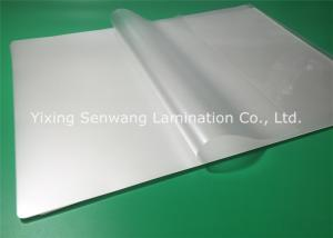 China A3 Large Pouch Laminating Film 150 Micron Thermal Laminating Sheets on sale