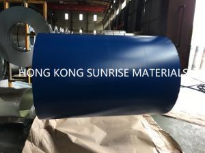 China CGCC G550  0.12 x 914MM Blue PPGI Prepainted Galvanized Steel Sheet in Coils Z50 on sale