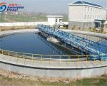 Compact Structure Wastewater Treatment Equipment , Carbon Steel Sludge Treatment Plant