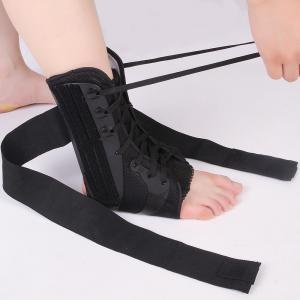 China Osky D014 Ankle And Shin Support , Ankle Brace Wrap With Adjustable Strap supplier