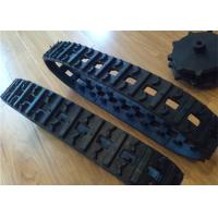 Agricultural Machine Snowmobile Rubber Track Low Noise Adjustable Length