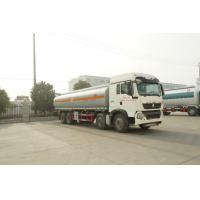 China Sinotruk HOWO Diesel Fuel Tank Semi Trailer Perfect Driving Performance on sale