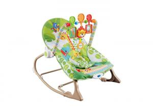 China 30 Inch Multifunction Infant Rocking Chair With Soft Padding Seat on sale