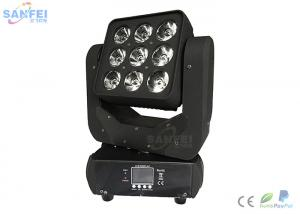 China LED 9pcs*10 Matrix Moving Head Beam Light / Cree RGBW 4in1 LED lamp / 16 Channel on sale