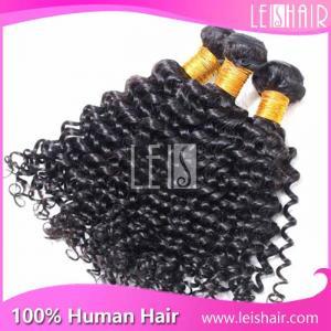 China Cheap Leis hair virgin brazilian deep curl hair weaving on sale