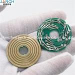 Separate Pancake Slip Ring  5 Circuits PCB Flat Structure Platter For Textile Industry