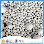 17% Inert Ceramic Balls 6mm 10mm High Crash Strength For Tower Support Media