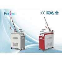 new design 2 systems q switched nd yag laser and long pulse hair removal nd yag laser machine