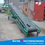 Electric mining machine conveyor belt with durable conveyor roller