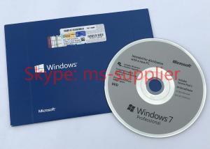 China Etiqueta da licença do COA da chave do produto de Windows 7 negócio em linha do estábulo da ativação do OEM da pro on sale