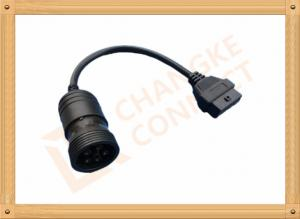China 6 Pin Female OBD Extension Cable to OBDII 16 Pin Adapter Cable CK-MFTD006 on sale