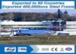 Durable Prefab Metal Buildings Made Of Steel Tube Columns Provide To Port Louis
