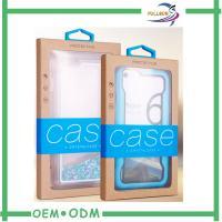 China Custom Luxury Iphone 6 Packaging Boxes , Popular Kraft Phone Packaging Case on sale