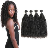 Authentic Real Curly Human Hair Weave Bundles Without Chemical Processed