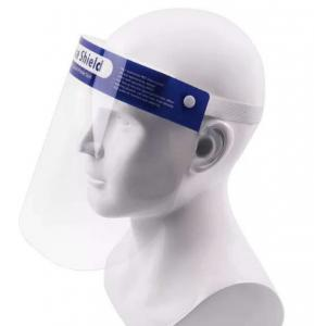 China 0.2mm Plastic Face Shield Visor on sale