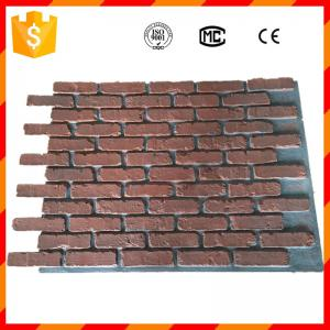 China High quality light weight antique faux brick panels for home decorations on sale