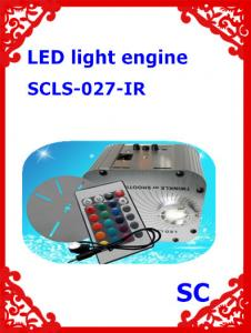 China 27W led Super bright RGB twinkle and shooting star fiber optic light illuminator with IR remote control on sale