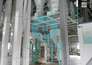 China Large Output Feed Pellet Production Line Automatic Dosing Animal Feed Manufacturing on sale