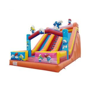 China PVC Safety Colorful Giant Inflatable Slide UV Resistant High Airtight And Soundness on sale