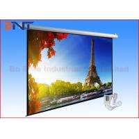 China White Roll Up Remote Projection Projector Screen Wall Mount 135 Inch 4 3 on sale