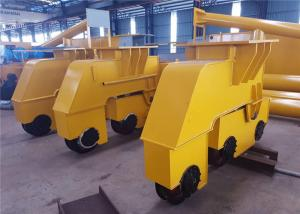 China Custom Single / Double Girder Overhead Crane End Trucks With Soft Stat Motor on sale