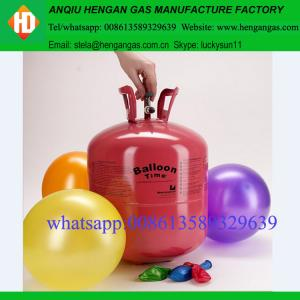 Disposable factory price helium tank with pure helium gas
