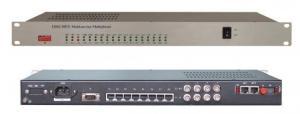 China 4 E1 2 ethernet 30 channel voice (FXS/FXO) fiber multiplexer on sale