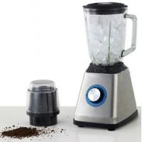2 in 1 stainless steel Blender grinder 1.5 liter glass jar hot sale