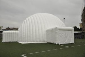 China Giant White Event Dome Inflatable Tent Water Proof PVC For Exhibition on sale