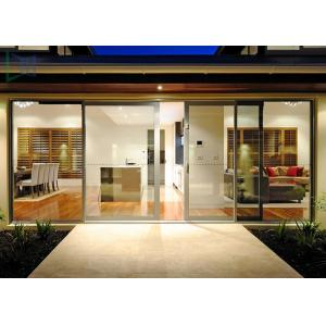 China Functional System Aluminium Alloy Sliding Glass Door with  Undisturbed Views on sale