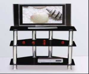 Office Home Furniture Modern TV Stand With Stainless Steel Tube DX CT14
