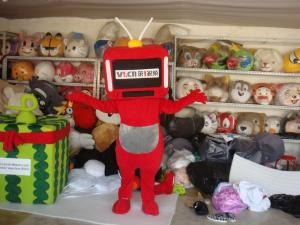 Quality customized plush full-body cartoon character advertising mascot costumes for sale