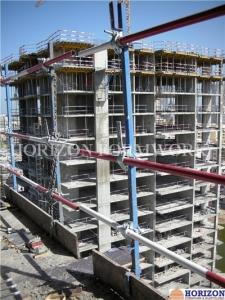 China Safety Concrete Formwork Systems Guardrail Post 1.7m Galvanized Finishing on sale