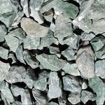 Godos verdes de pedra reais