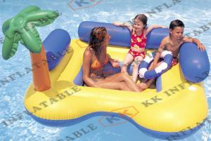China Relax Inflatable Water Game Inflatable Water Float Mattress Comfortable Mat Kwg-g50 supplier