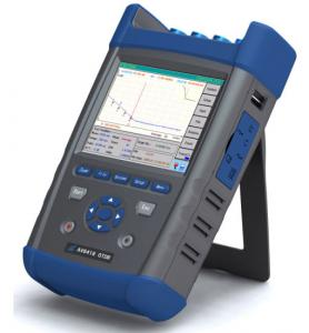 China Handheld AV6418 45dB Optical Time Domain Reflectometer For Testing FTTx Network on sale